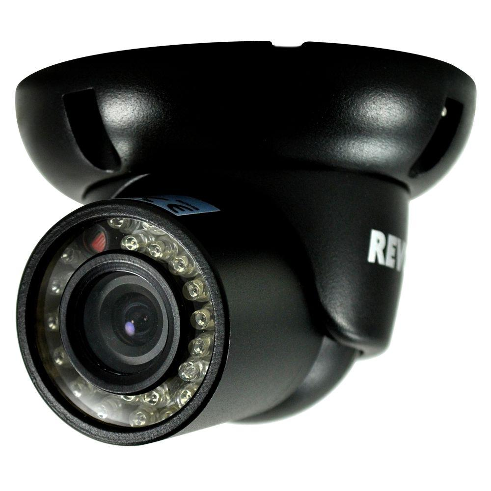Wired 700 TVL Indoor and Outdoor Mini Turret Surveillance Camera