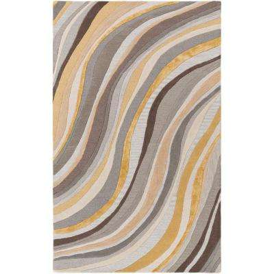 Lounge Carmen Light Yellow 9 ft. x 13 ft. Indoor Area Rug