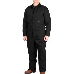 Black Berne Apparel I417BKR520 2X-Large Regular Deluxe Insulated Coverall