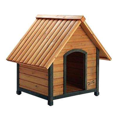 2.2 ft. L x 2.7 ft. W x 2.6 ft. H Arf Frame Medium Dog House