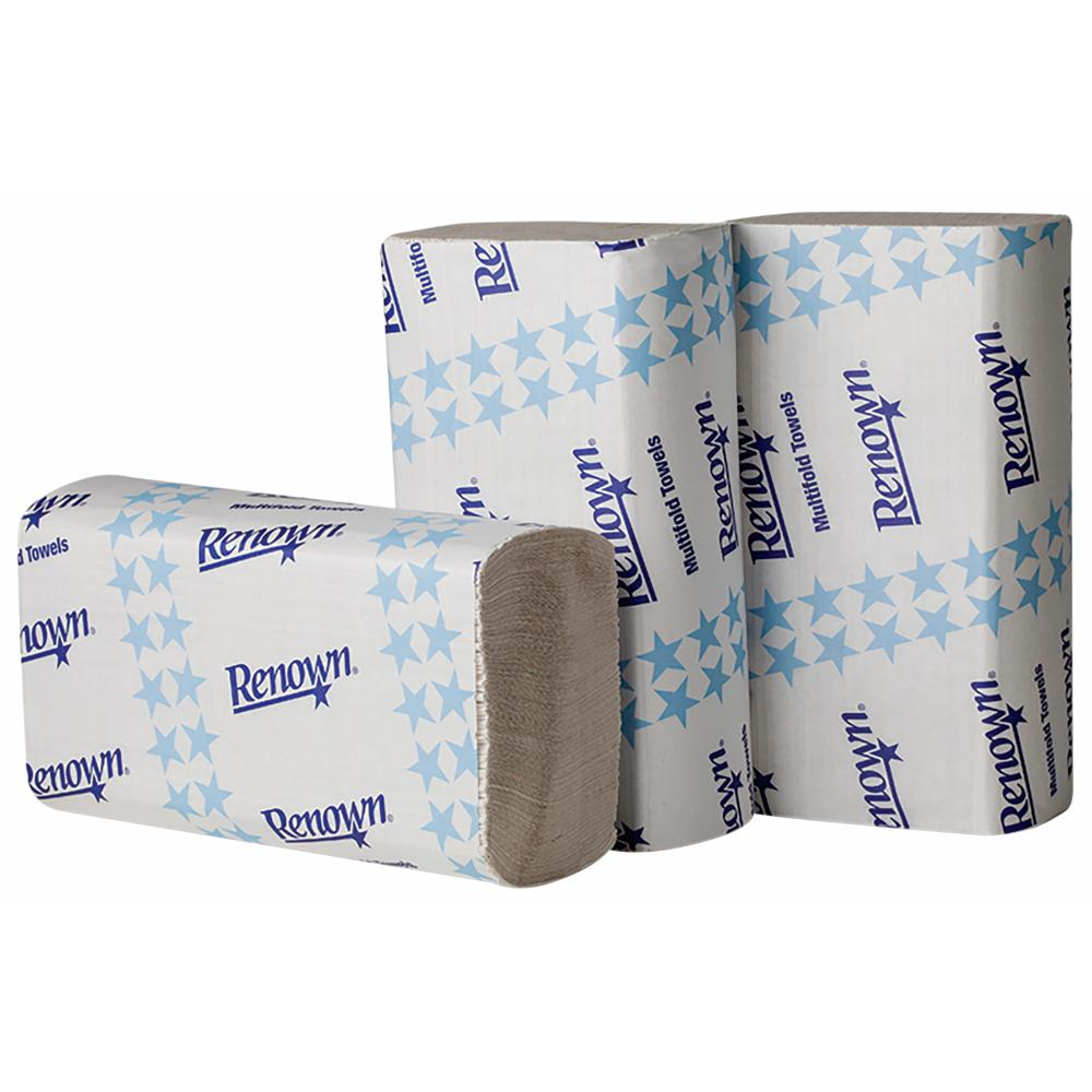 White Multifold Paper Towels (250 Sheets per Pack, 16 Packs per