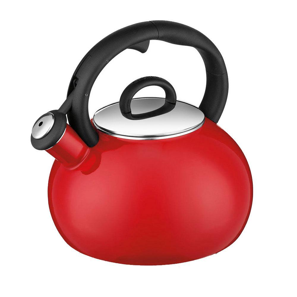 Aura 8-Cup Red Tea Kettle