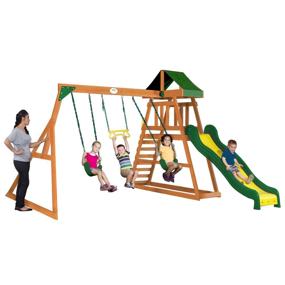 backyard discovery prescott all cedar playset 65011com the home