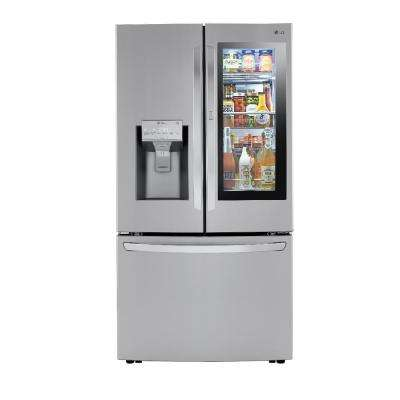 29.7 cu. ft. Smart French Door Refrigerator, InstaView Door-In-Door, Dual Ice w/ Craft Ice in PrintProof Stainless Steel