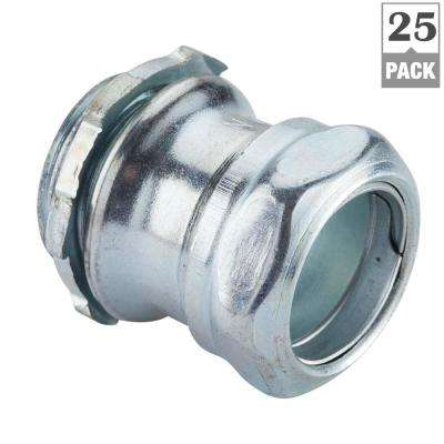 3/4 in. Electrical Metallic Tube (EMT) Compression Connectors (25-Pack)