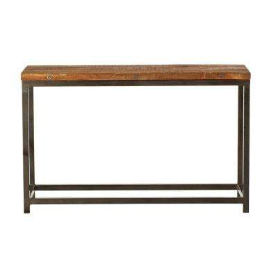 Holbrook Coffee Bean Console Table. natural; coffee bean