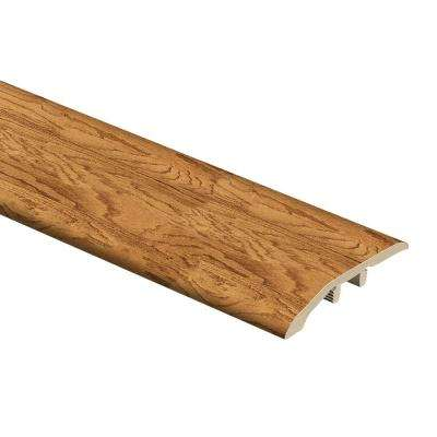 Harvest Oak 1/3 in. Thick x 1-13/16 in. Wide x 72 in. Length Vinyl Multi-Purpose Reducer Molding