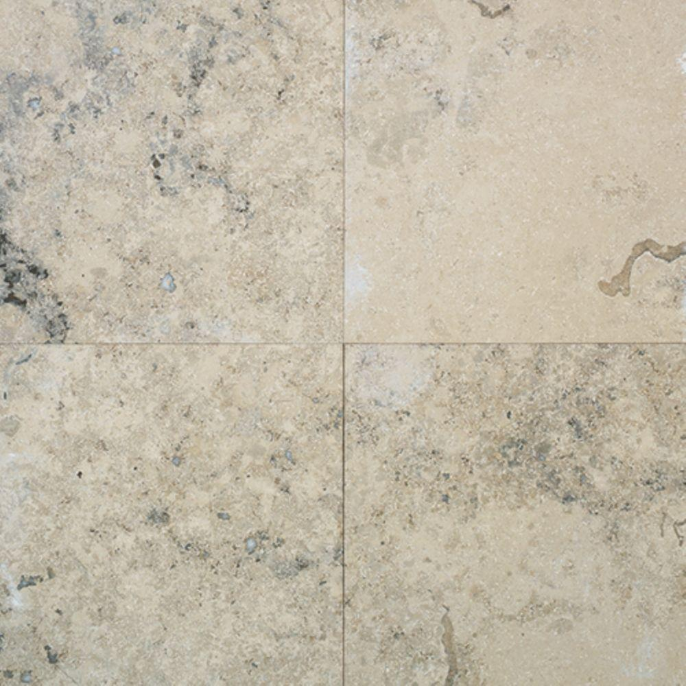 Daltile Jurastone Gray 12 in. x 12 in. Natural Stone Floor and Wall Tile (11 sq. ft. / case)