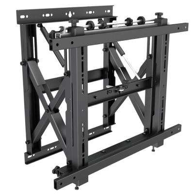 Barkan 32 in. - 80 in. Video-Wall TV Mount, Gas Spring and Comprehensive Adjustment Mechanism, Black