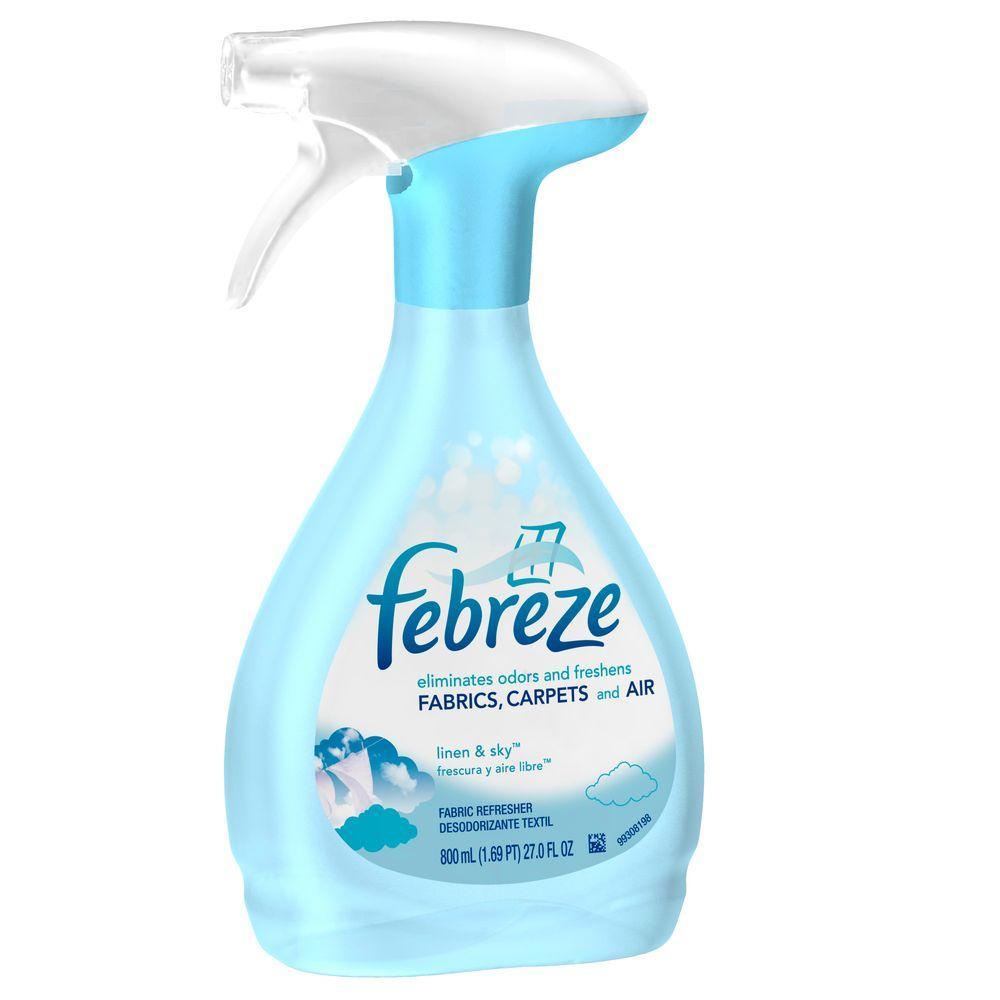 Febreze 27 fl. oz. Linen and Sky Fabric Refresher ...