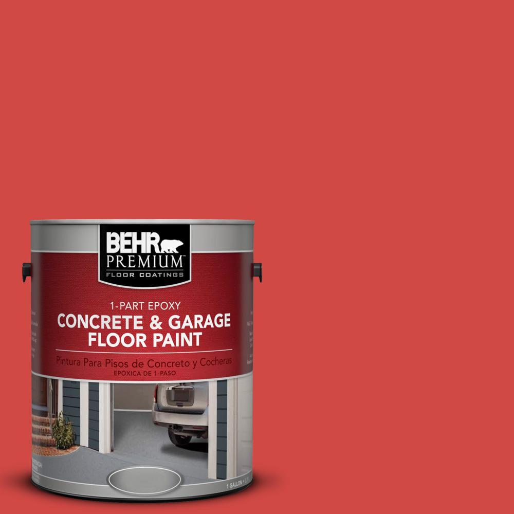 1 gal. #P170-6 Race Car Stripe 1-Part Epoxy Concrete and Garage Floor Paint