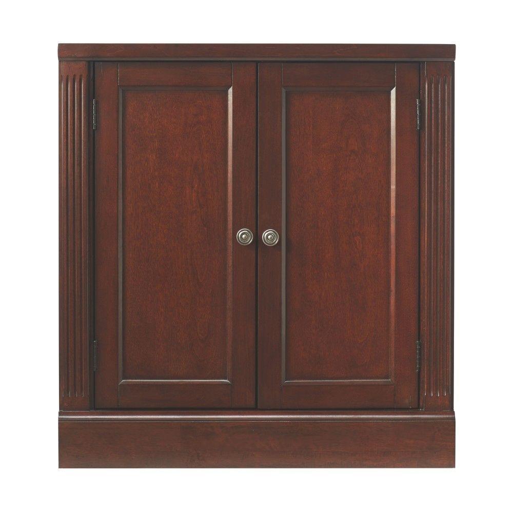 Home Decorators Collection Edinburgh 30 In H X 28 In W Modular Pier Cabinet In Espresso 6237