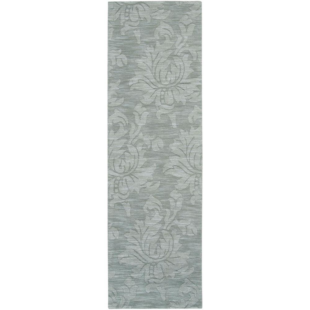 Beth Gray Blue 2 ft. 6 in. x 8 ft. Rug