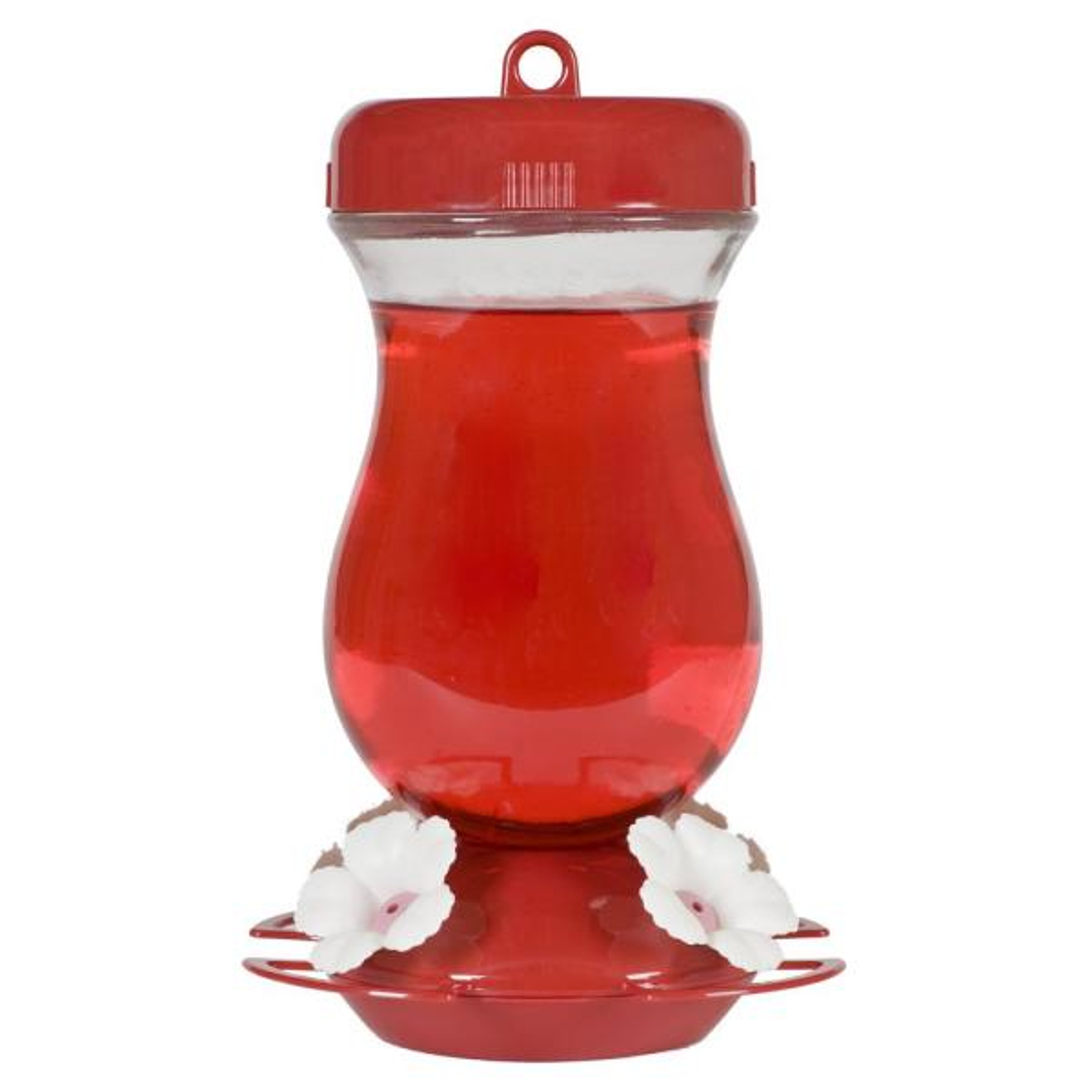 Top-Fill Glass Hummingbird Feeder - 24 oz. Capacity