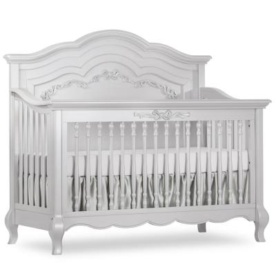 Aurora Akoya Grey Pearl 5-in-1 Convertible Crib