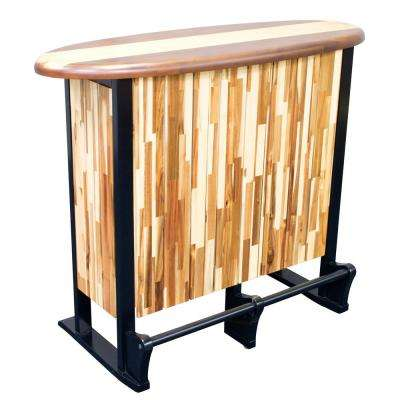 Woody Surf Co Wood Outdoor Serving Bar