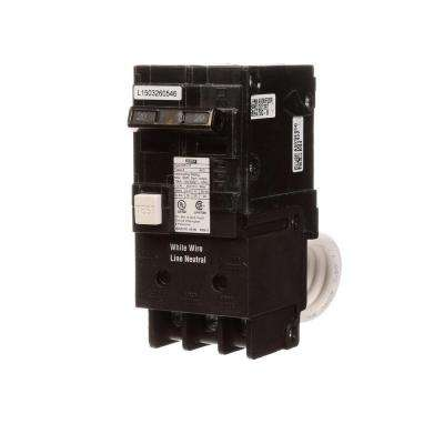 20 Amp Double Pole Type MP-GT GFCI Circuit Breaker