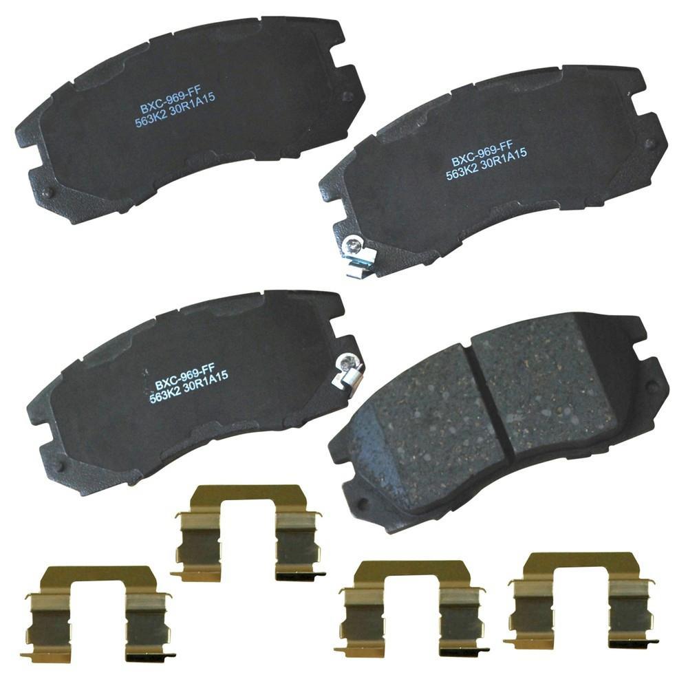 Raybestos MGD714CH Reliant Brake Pads Set
