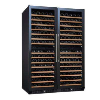 N'FINITY PRO Double L 332-Bottle 47.5 in. Wine Cellar