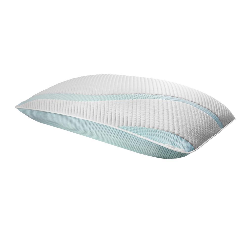 TEMPUR-Adapt ProMid + Cooling King Memory Foam Pillow