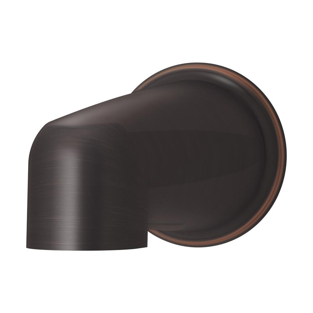 Elm 5-7/8 in. Non-Diverter Tub Spout in Seasoned Bronze
