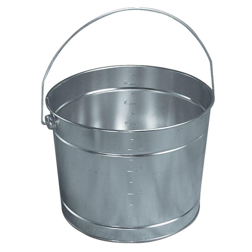 United Solutions 5 Qt Metal Pail With Handle Pn0129 The Home Depot