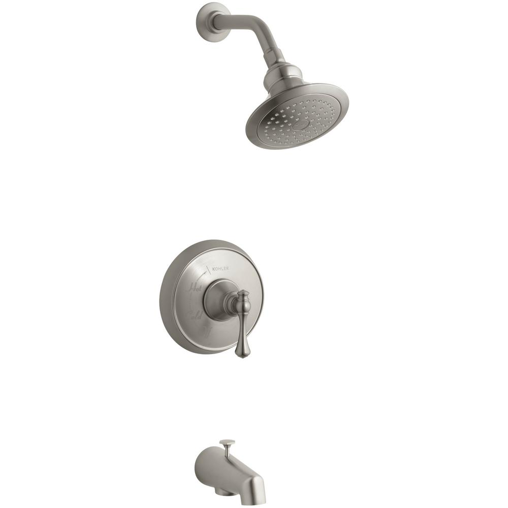 Kohler Revival 1 Handle 1 Spray Tub And Shower Faucet With