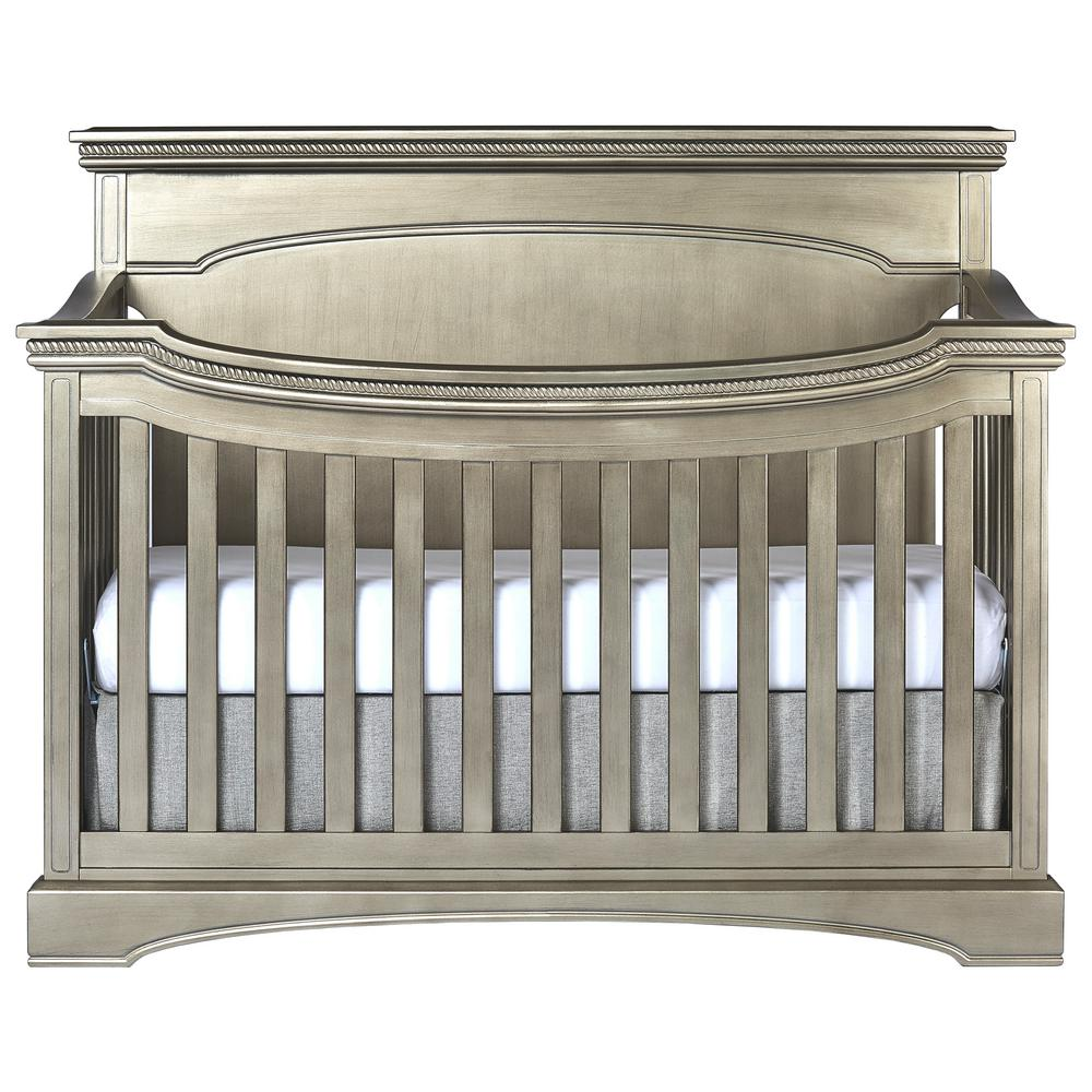 Evolur Antique Bronze Flat Top Convertible Crib Catalina