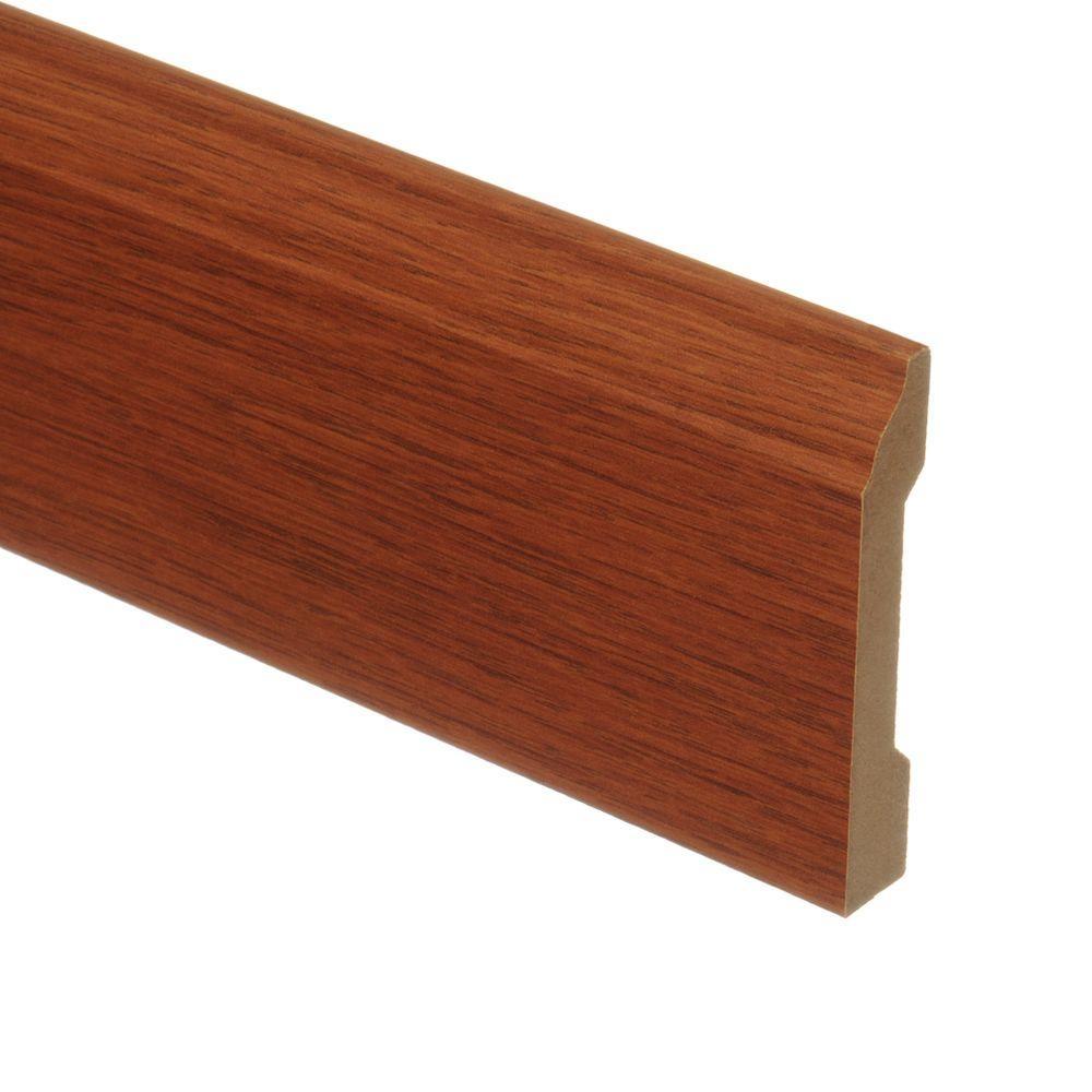 Brasstown Oak 9/16 in. Thick x 3-1/4 in. Wide x 94 in. Length Laminate Wall Base Molding