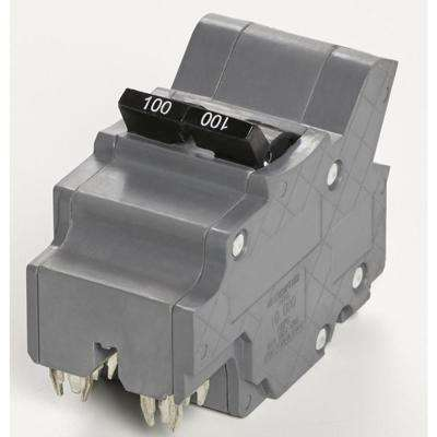 New VPKUBIF Thick 100 Amp 1 in. 2-Pole Federal Pacific Stab-Lok Type NA Replacement Circuit Breaker