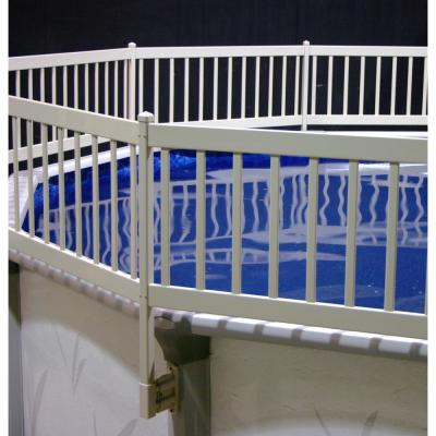 Water Warden Above Ground Pool Safety Gate Est148 The Home Depot