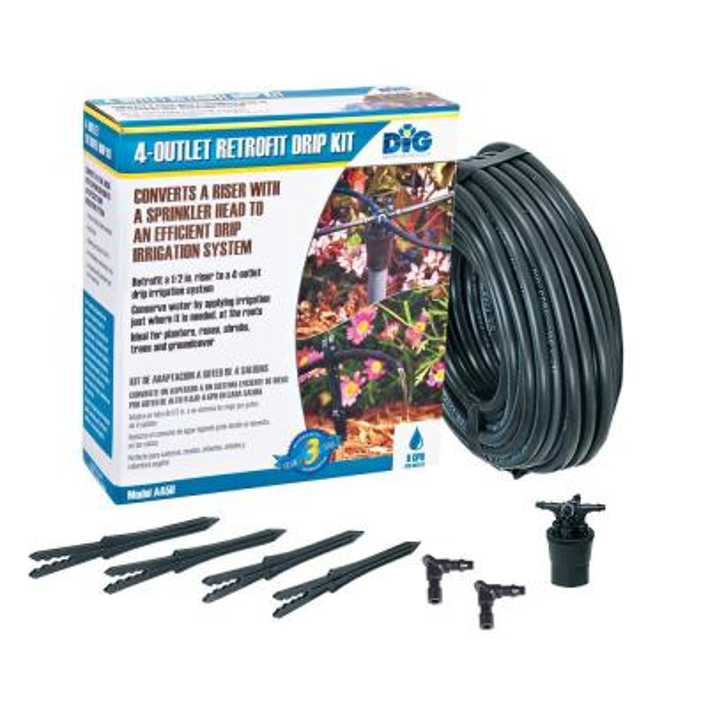 4-Outlet Retrofit Drip Manifold Kit