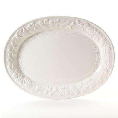 Fruitful White Durastone Platter