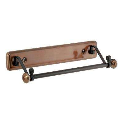 York Lyra Paper Towel Holder in Bronze