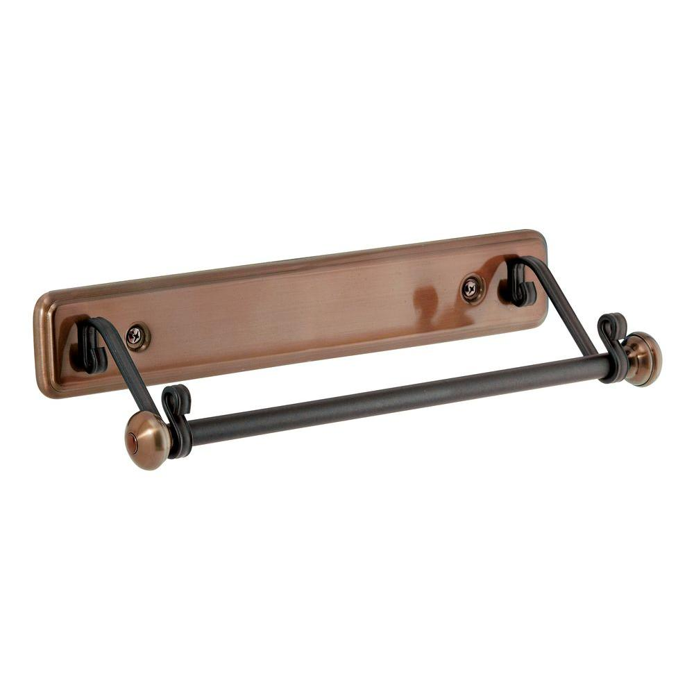 Interdesign York Lyra Paper Towel Holder In Bronze