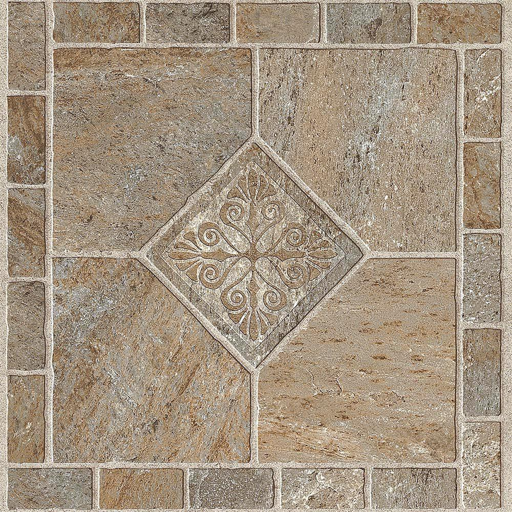 Armstrong multi color bronze 12 in x 12 in residential peel and armstrong multi color bronze 12 in x 12 in residential peel and stick vinyl tile flooring 45 sq ft case 25209011 the home depot dailygadgetfo Choice Image