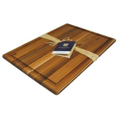 Architec Teak-Edge Grain XL Carving Board