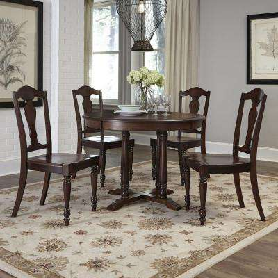 Country Comfort Aged Bourbon Dining Table