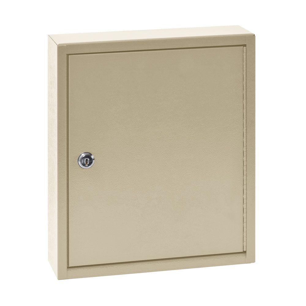 Buddy Products 60 Key Cabinet in Beige