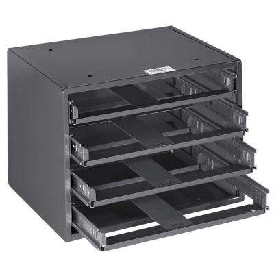 Mid-Size 15-1/4 in. 4-Box Slide Rack