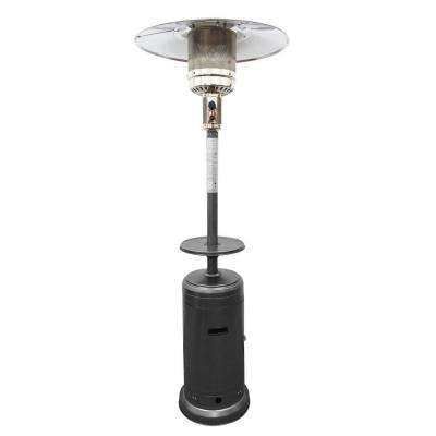 48,000 BTU Hammered Silver Gas Patio Heater