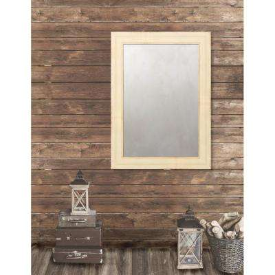 Pinnacle 31.5 in. x 43.5 in. French Antique Wide Framed Antique Mirror