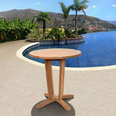Nile Teak Round Patio Bistro Table