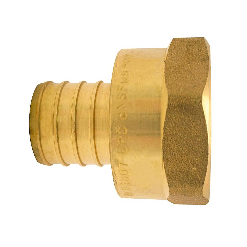 NEOPERL 55/64 in. Brass Dual-Thread Metric Adapter-97129.05 - The ...