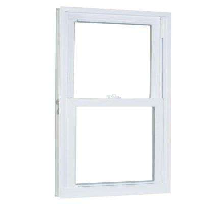 30.75 in. x 53.25 in. 70 Series Pro Double Hung White Vinyl Window with Buck Frame