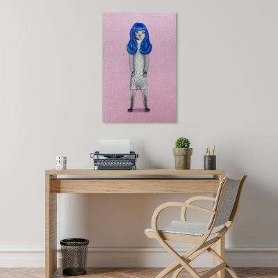 """""""Gurl Glitter"""" High Resolution Graphic Art Print on Wrapped Canvas Wall Art"""