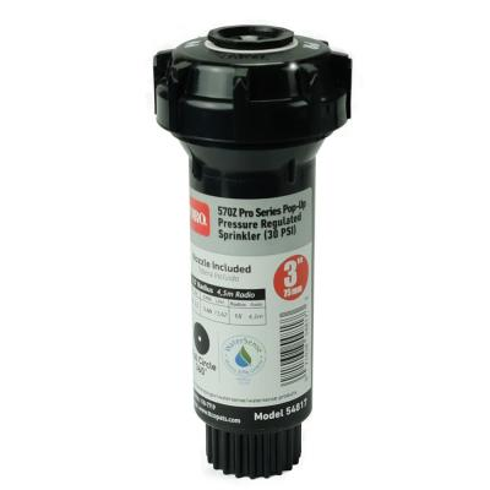 570Z Pro 3 in. 15 ft. Full Circle Pop-Up Pressure-Regulated Sprinkler