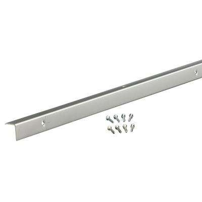 96 in. Decorative Aluminum Corner A772 for Outside in Anodized