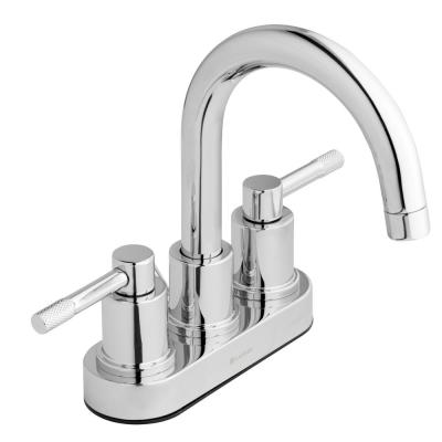 Axel 4 in. Centerset 2-Handle High-Arc Bathroom Faucet in Chrome