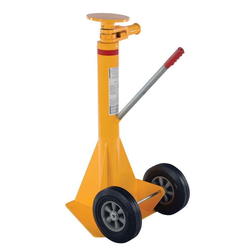 40,000 lb. Spin Top Ratchet Stabilizing Jack